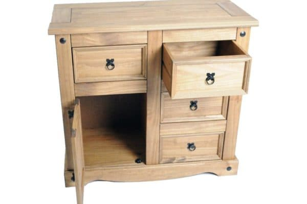Corona 1 Door 4 Drawer Sideboard-336
