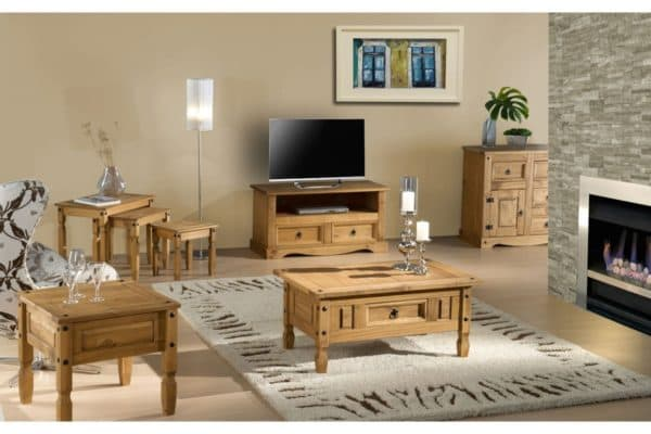 Corona 1 Door 4 Drawer Sideboard-337
