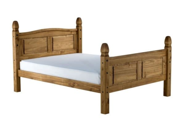 Solid Pine Corona High End Bed Frame