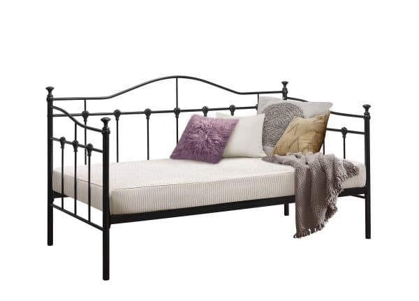 Traditional Torino Daybed Frame in Black