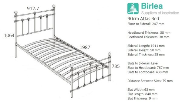 Atlas Bed-2307
