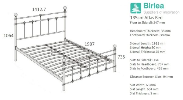 Atlas Bed-2306