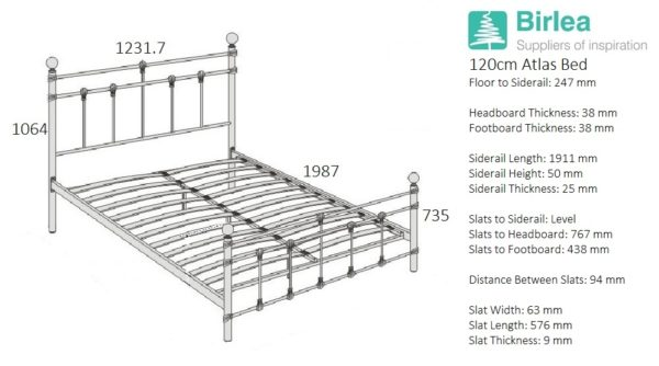 Atlas Bed-2308