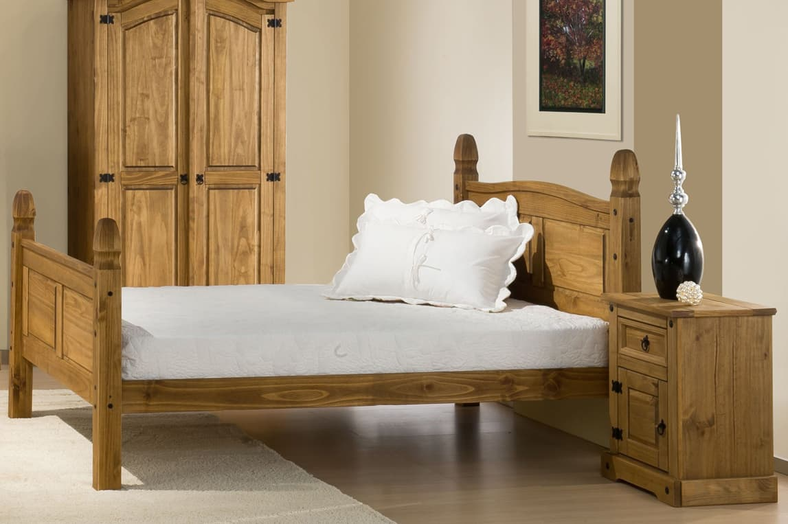Corona High End Bed Birlea