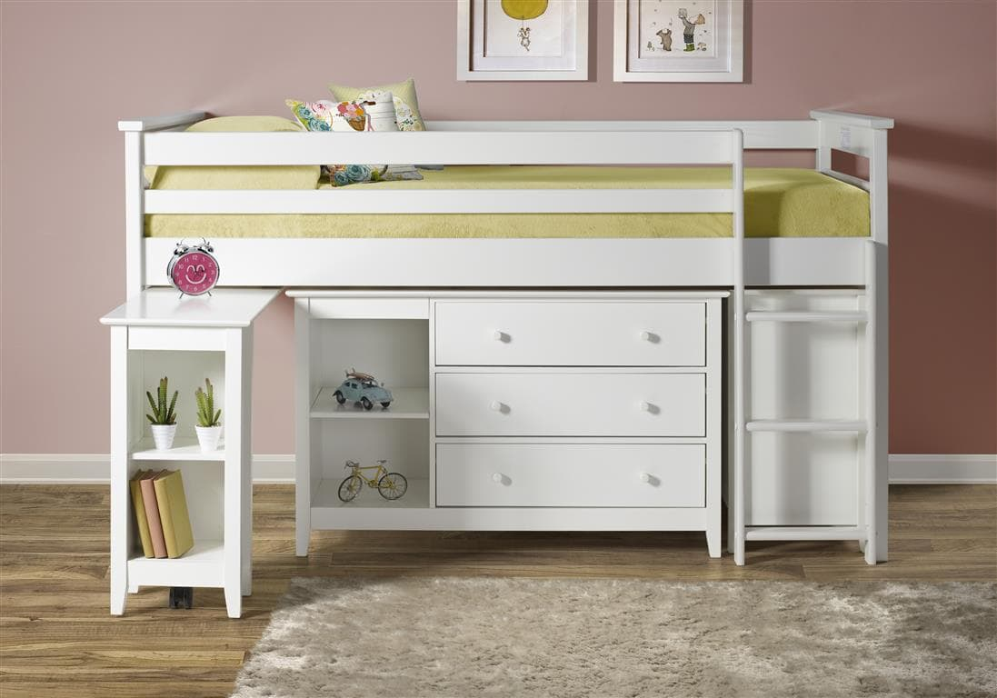 cotswold high rise midi sleeper bed in solid pine birlea. Black Bedroom Furniture Sets. Home Design Ideas