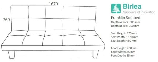 Franklin Sofa Bed-2629