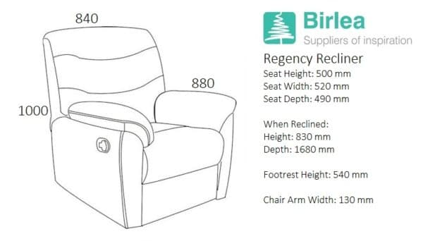Regency Recliner Chair -3067