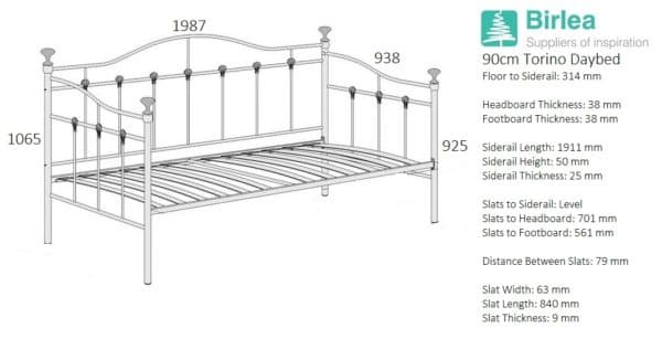 Torino Daybed-2620