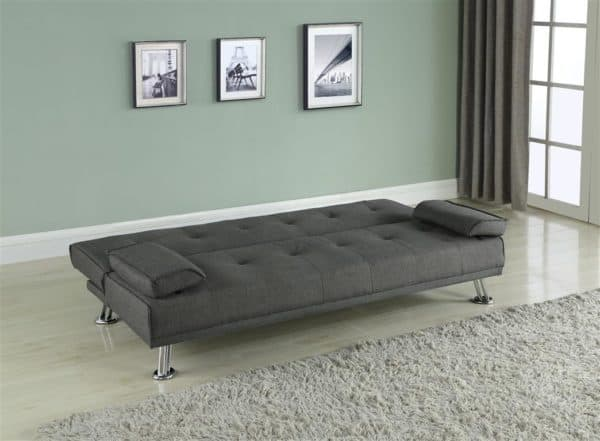 Logan Fabric Sofa Bed-6958