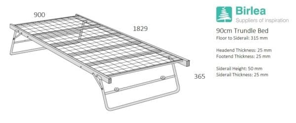 Trundle Bed-3187