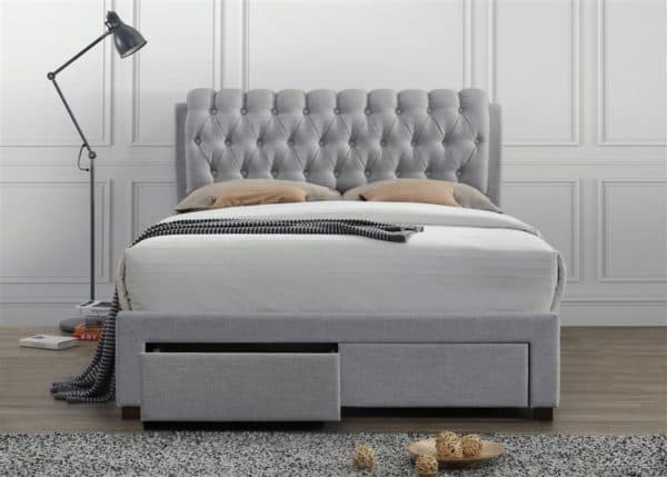 Valentino 2 Drawer Bed-7648