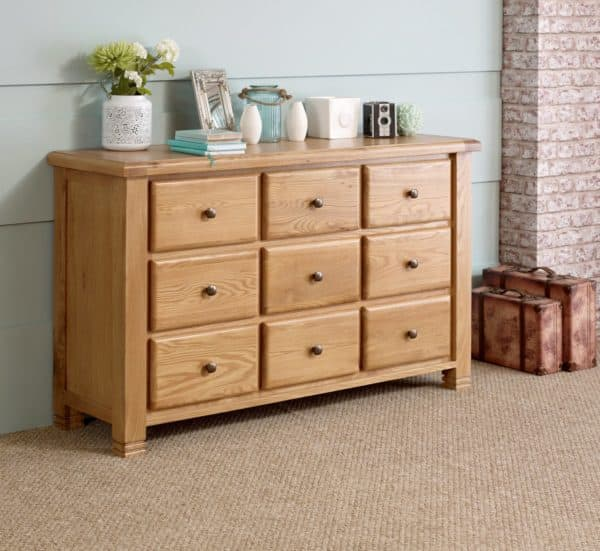 Woodstock 9 Drawer Chest-4369