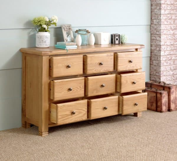 Woodstock 9 Drawer Chest-4370