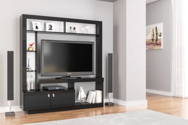 Zuma Entertainment Unit Black-0