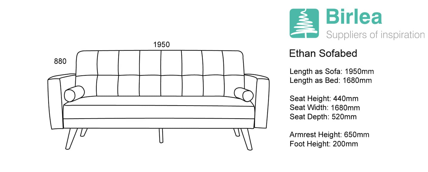 Ethan Large Sofa Bed-6154