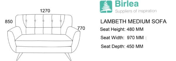 Lambeth Medium Sofa-5444