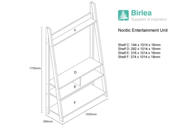 Nordic Entertainment Unit-6085