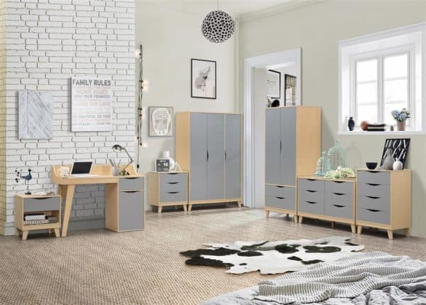 Kingston 3 Door Wardrobe-7203