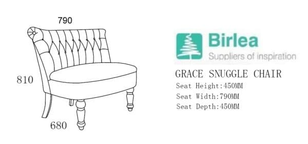 Grace Snuggle Chair-6816