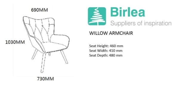 Willow Armchair-7099