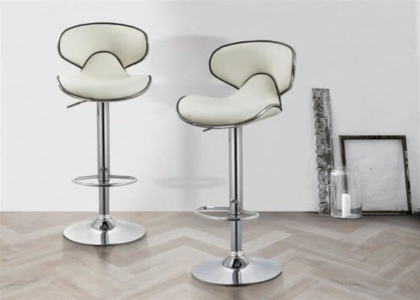 Soho Bar Stool White-0