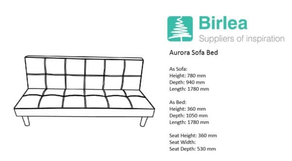 Aurora Sofa Bed-7580