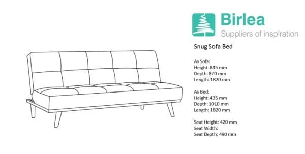 Snug Sofa Bed-7595