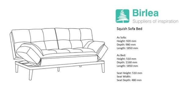 Squish Sofa Bed-7615