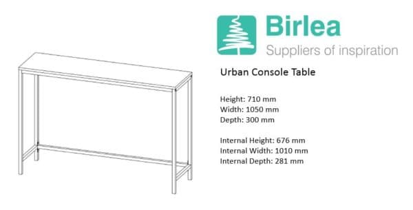 Urban Console Table-7456