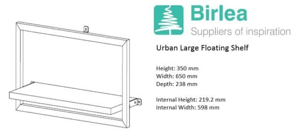 Urban Large Floating Shelf-7445