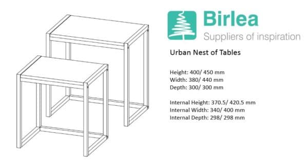 Urban Nest of Tables-7473