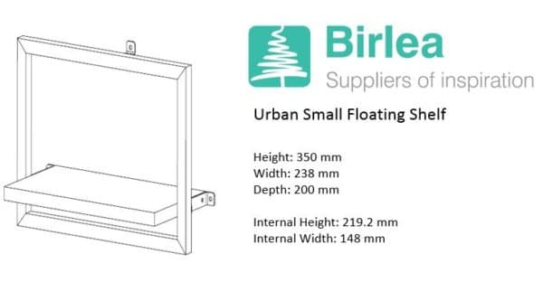 Urban Small Floating Shelf-7448
