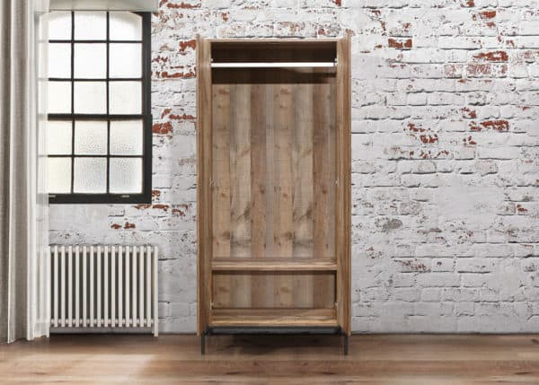 Urban 2 Door Wardrobe-7344