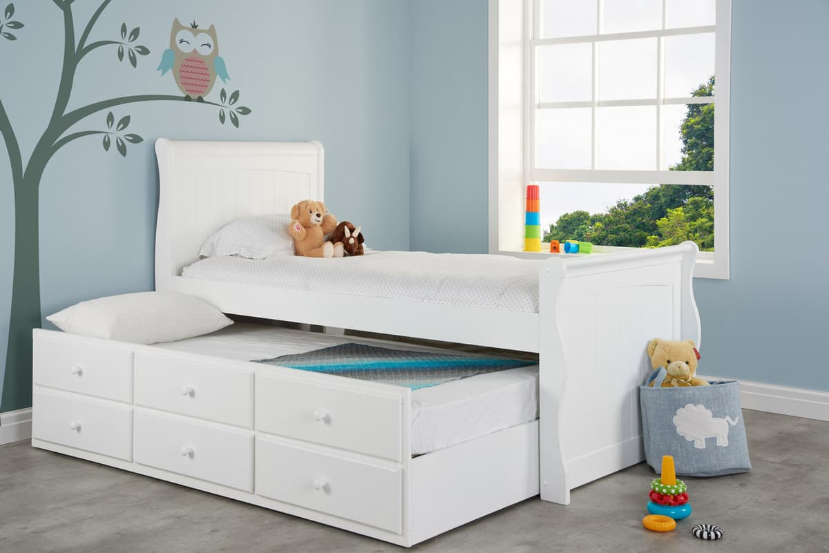 Verona Cabin Bed Birlea Pull Out Trundle Bed Storage Bed